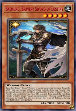 Balmung Bravery Sword of Destiny