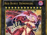Red Burst Demongirl