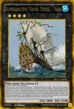 Superancient Naval Vessel - Vasa