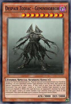 Despair Zodiac - Geminihorror