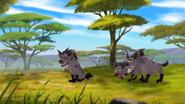 Hyenapantescape
