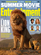 The Lion King (2019) EW Cover