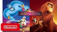 Disney Classic Games Aladdin and The Lion King - Launch Trailer - Nintendo Switch