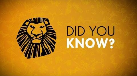 THE LION KING Incredible Facts You Probably Didn't Know About The Show