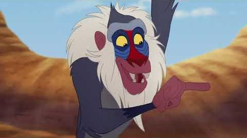 Leaning Mandrill's kungfu (The Lion Guard)