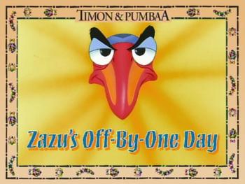 ZazusOffByOneDay