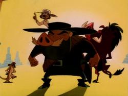 TOTR Timon Pumbaa & Cisco Pig2
