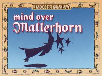 MindOverMatterhorn