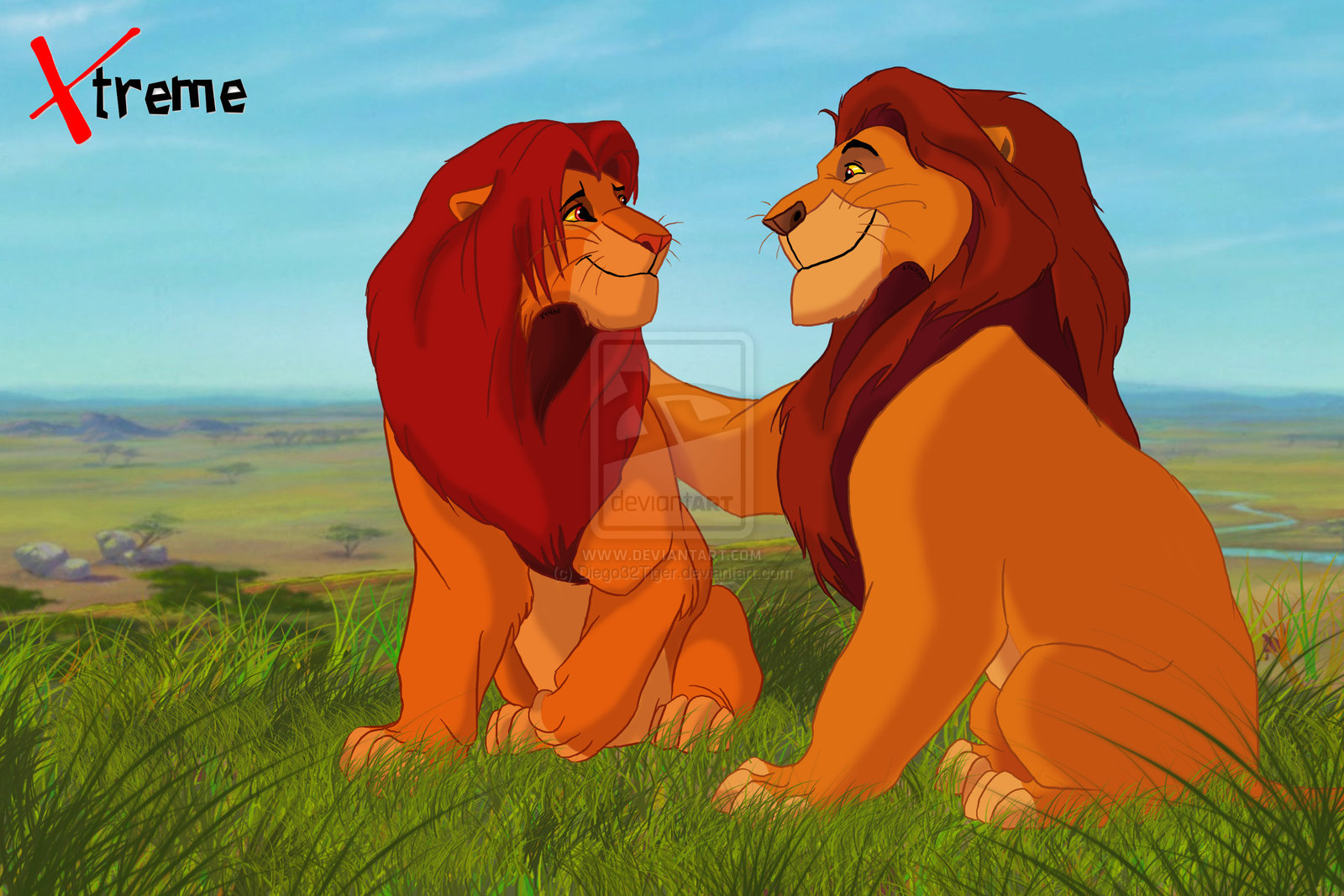 Uncategorized Lion King Mufasa image the lion king mufasa and simba by diego32tiger d5ty527 jpg jpg