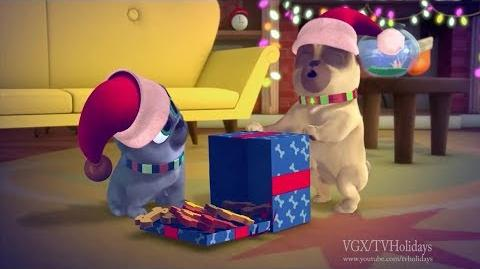 Disney Junior HD US 25 Days of Christmas Advert 2 2017