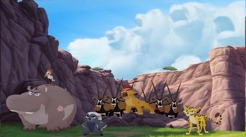 Kion's Roar of the Elders Ending Janja's New Crew HD Clip