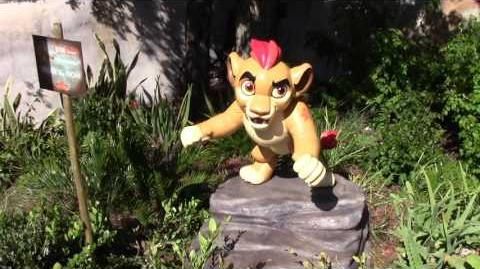 NEW Highlights from Disney Junior The Lion Guard Adventure at Disney's Animal Kingdom, Disney World