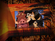 Timon, his Ma, Max, and Pumbaa-1