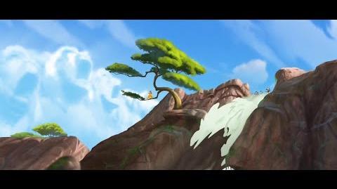 Kion's Roar of the Elders - Paintings & Predictions Lion Guard HD Clip