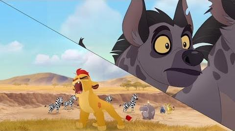 Lion Guard Kion's Roar of the Elders Swept Away HD Clip