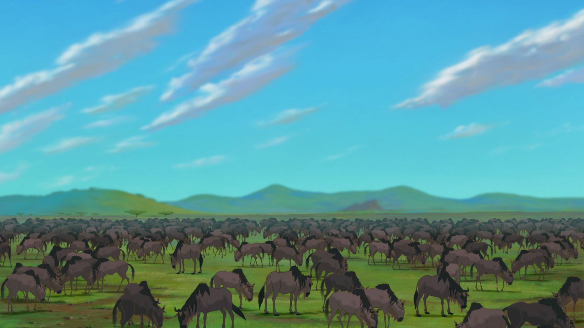 Wildebeests The Lion King Wiki Fandom Powered By Wikia