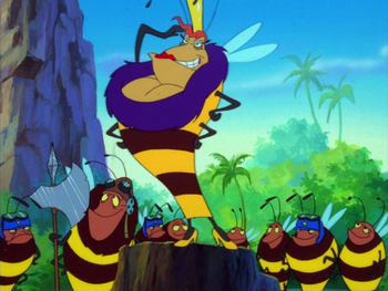 TBBONTBB Buzz Queen Bee & colony