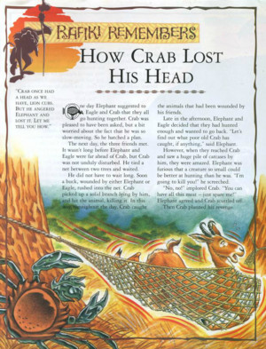 How Crab Lost His Head 1