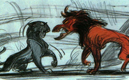 Scar and Sarabi