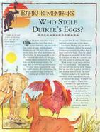 Who Stole Duiker's Eggs 1