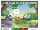 Simba Runs Away from Home