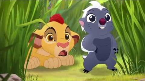 The Lion Guard The Morning Report - Baby Fuli And Baby Kion & Bunga Meet Pua's Float Scene HD