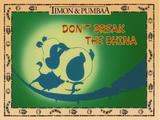 Don't Break the China