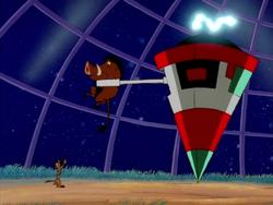 FP Timon Pumbaa & alien robot