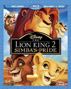 The Lion King 2 blu ray cover