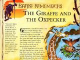 The Giraffe and the Oxpecker