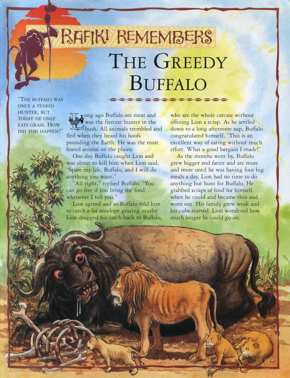 The Greedy Buffalo