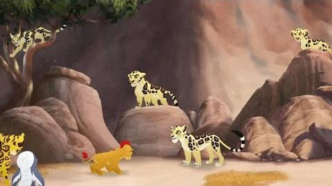 Lion Guard Makucha's Leap The Golden Zebra HD Clip