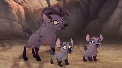 Lion Guard Janja's attack! Thurston's Stripes Rescue in the Outlands HD Clip