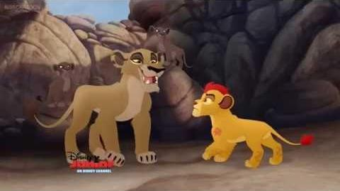 Lion Guard Zira traps Kion clip in (HD)