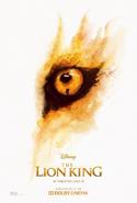The Lion King 2019 Cinema Simba's Eye Poster
