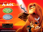 TheLionKing AOL MainMenu