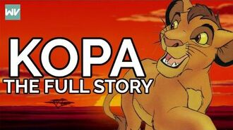 Kopa His Story, Theories and Place In Lion King Canon Discovering Disney
