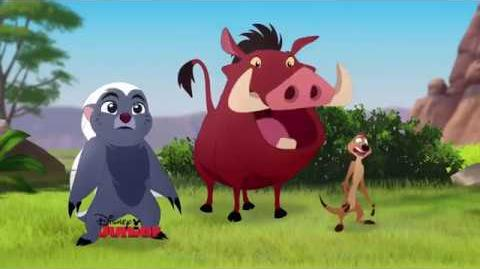 The Lion Guard - Timon and Pumbaa's Christmas EXCLUSIVE CLIP