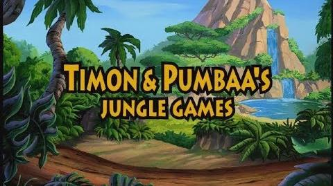 Timon & Pumbaa's Jungle Games Full Gameplay Walkthrough (Longplay)