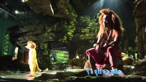 The legend of the Lion King Disneyland resort paris