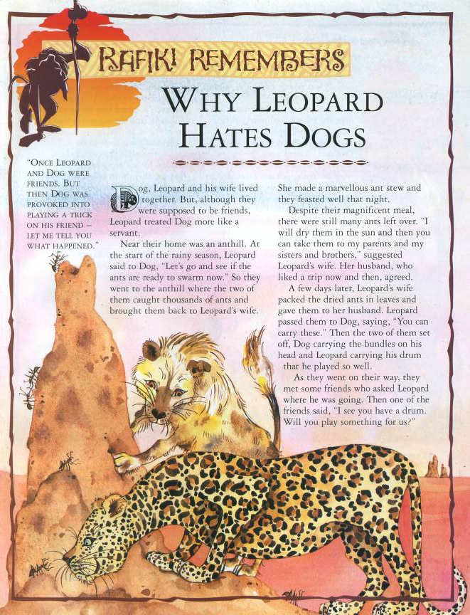 Why Leopard Hates Dogs