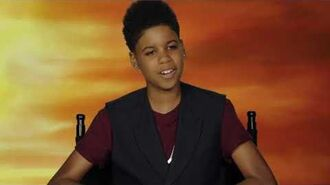 THE LION KING - J.D. McCrary Interview