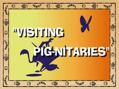 Visiting Pig-nitaries