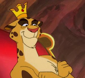 King leopold- smirk