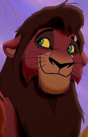 Kovu with scar