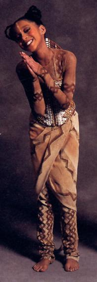 Kajuana shuford as young nala