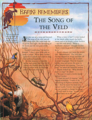 Song of the Veld 1