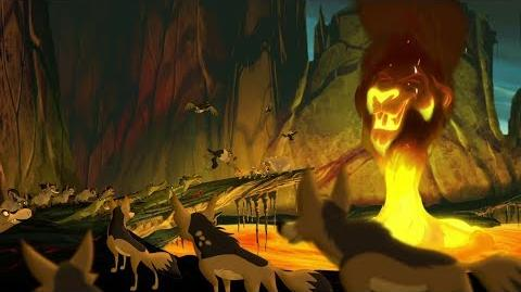 Lion Guard Army of Scar BATTLE! Kion's Roar of the Elders The Scorpion's Sting HD Clip