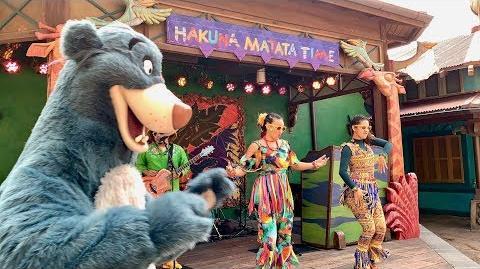 Hakuna Matata Time Dance Party - Disney's Animal Kingdom