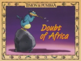 Doubt of Africa